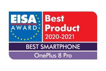 "EISA大奖揭晓:一加 8 Pro 获""年度最佳智能手机奖"""