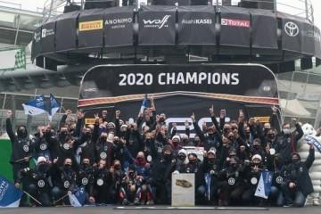 现代车队成功卫冕世界顶级赛车盛事WRC2020年度厂商总冠军