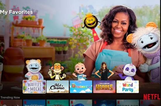 Netflix重新设计儿童档案以热门角色作头像此前数次尝试此功能